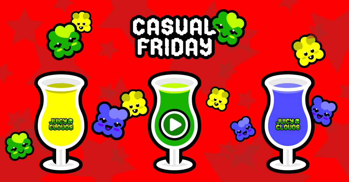 Casual Friday, Juicy Clouds Mobile Game