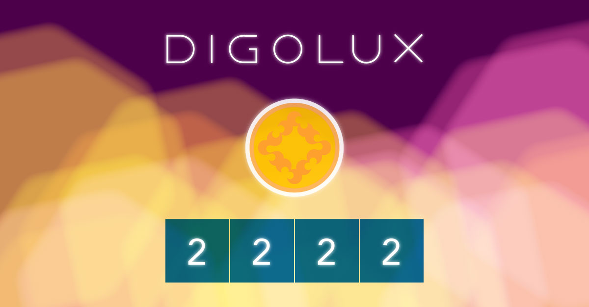 Digolux Row of two's Weekend, 2048 game