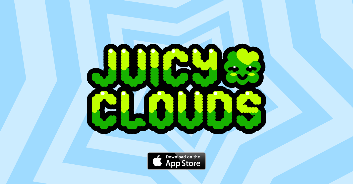 Juicy Clouds Available on the Apple AppStore