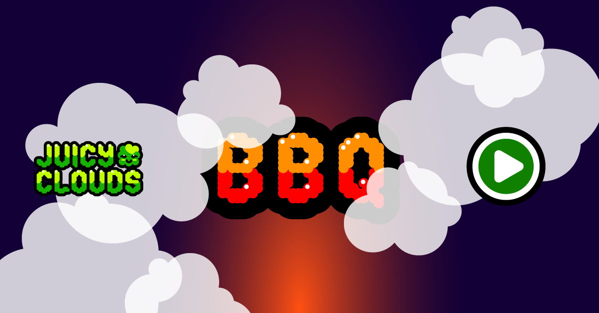 Juicy Clouds Mobile Game iOS BBQ