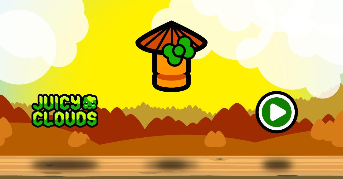 Juicy Clouds Mobile Game iOS INTERNATIONAL CAPS LOCK DAY